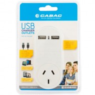Cabac Power Outlet with USB