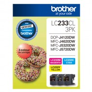 Brother LC233CL (3 Pack)