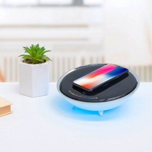 mbeat actiVIVA Wireless Charging Station with RGB Lighting