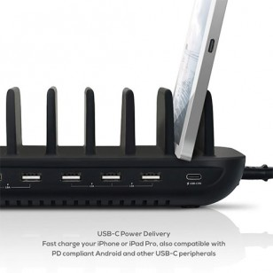 mbeat GorillaPower 7 Port Charging Station