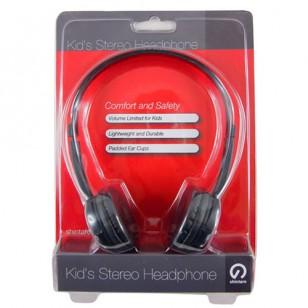 Shintaro Kids Stereo Headphones - Black