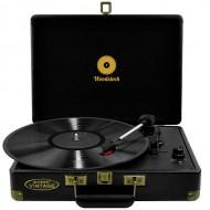 mbeat Woodstock Retro USB Turntable